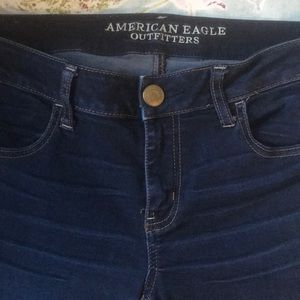 American Eagle Outfitters Jeans - American Eagle Outfitters mid-rise dark wash jeans